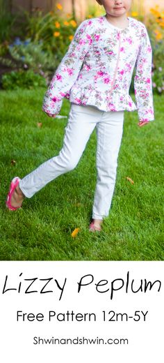 Today I have a free pattern for you. It was a quick little light weight knit jacket/top I made...