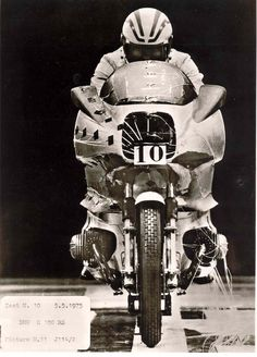 BMW R100RS - Wind Tunnel