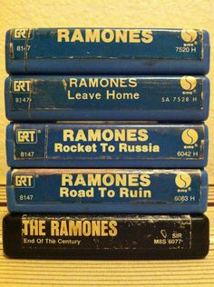 Ramones 8-track collection