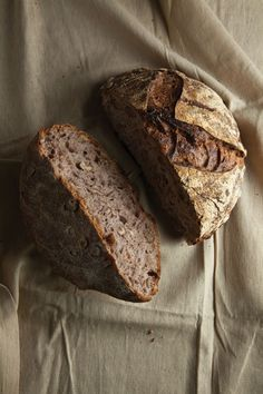 Walnut Levain bread from Acme Bread in Berkley, CA  Also, located in the Ferry Building in San Francisco.  They make this bread for Trader Joe's,  Any bread from Acme is good.