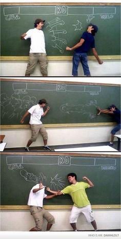 Chalk Board Fun