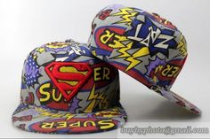 DC Comics Superman Hero Snapbacks Hats 3|only US$6.00 - follow me to pick up couopons.