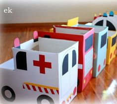 20 Diaper Box DIY Projects.. we have so many of these! Great way to use :)