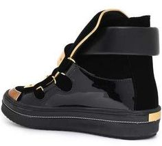 ae9a7121412e6 Giuseppe Zanotti Ace Patent-leather And Velvet High-top Sneakers #Ace#Patent