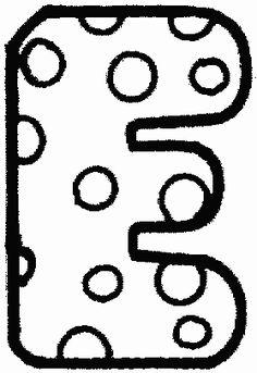 alphabet à pois