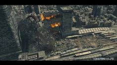 This movie shows the bunch of destruction shots done by Shirogumi(http://shirogumi.com/) and StealthWorks FX team in Shin Godzilla.(http://www.imdb.com/title/tt4262980/)  We used thinkingParticles6.3 for major destructions, FumeFX for smoke,fire and explosion, Houdini for water FX and melting metal.  Thank you cebas for supporting us. We got interview from them and talked about how we made massive FX in shin-Godzilla.  http://cebas.com/?pid=testimonial&tid=131 We hope you can enjoy it!