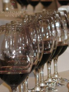 A tip for serving multiple Missouri wines: Serve from dry to sweet and from young to old to get the most flavors without the wines affecting eachother. Tasting Room, Wine Tasting, Just Wine, Wine And Spirits, Wine Country, Missouri, Wines, Cork, Bubbles