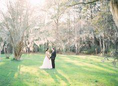 Magnolia Plantation Wedding with Sequins | RuffledBlog.com
