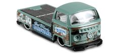 View details and collect the Hot Wheels Volkswagen Pickup racecar in Green. Part of the HW HOT TRUCKS series. Plastic Model Kits, Plastic Models, Hudson Hornet, Pickup Car, Vw Group, Car Volkswagen, Hot Wheels Cars, Collector Cars, Diecast