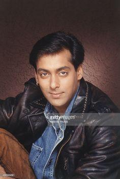 Portrait of Salman Khan.