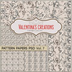 http://www.valentinascreations.com/Pattern-Papers-PSD-Vol.-7.html