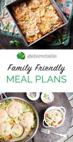 Receive a weekly meal plan and grocery list customized for you. You can make edits or even add your own recipes to create a delicious, doable meal plan perfect for your family (and the grocery list will dynamically update!). Our recipes are wholesome and kid-friendly. Try your first plan free today!
