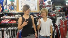 【新宿2号店】2014.05.16 プレーオフコーナーの前で一枚❢❢また遊びに来てください(^_^)v