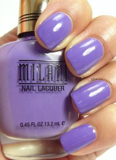 Milani Nail Lacquer in Vivid Violet- Gold Label line