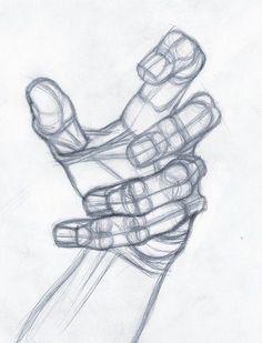 Ilustración mano,