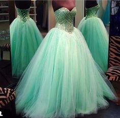 Evening Dress Evening Dress 2016 Tulle Beading Ball Gown Evening Dress Evening Dresses Party Dress Prom Dresses