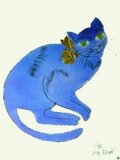 Andy Warhol: Blue Cat