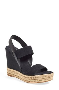 Tory Burch Espadrille Wedge Sandal (Women) available at #Nordstrom
