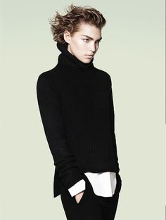 +J Androgynous Style