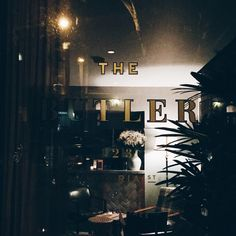 The Butler à Potts Point, NSW is serving #Lillet
