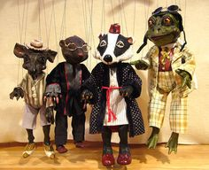 Wind in the Willows Marionettes by Susan Taaffe