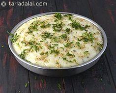 Rava Dhokla, Semolina Dhokla, Suji Dhokla recipe | by Tarla Dalal | Tarladalal.com | #40930