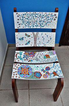 Votem na minha cadeira!!! | por ALÉM DA RUA ATELIER/Veronica Kraemer