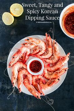 Sweet, tangy and spicy Korean dipping sauce (Cho-Gochujang or Chojang). This is most suitable for (raw or cooked) seafood and blanched broccoli.   MyKoreanKitchen.com