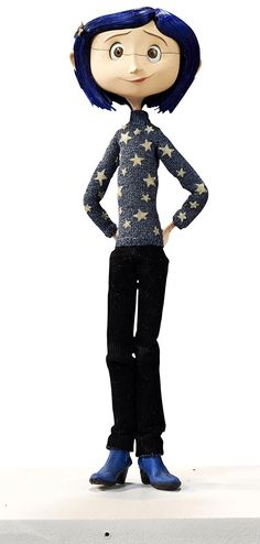 Coraline Blue Star Sweater Original Animation Puppet | Laika Animation Auctions stop motion puppets, props and other artwork from Coraline, ParaNorman & The Boxtrolls
