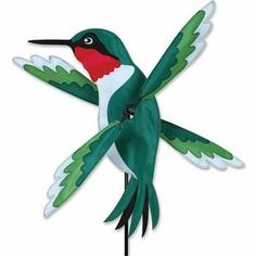 Get your Hummingbird Whirligig Wind Spinner Lawn Decoration from Heartland Flags! Backed with our money-back guarantee! Hummingbird whirligig wind spinner This wind spinner will look fantastic in your