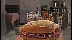 Chaves e o sanduíche de presunto