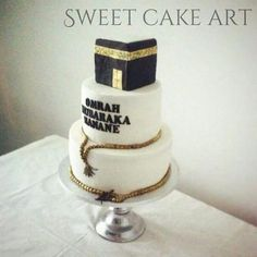 Mecca cake Eid Cupcakes, Eid Cake, Fondant Cakes, Cupcake Cakes, Cupcake Recipes, Just Cakes, Cakes And More, Ramadan Sweets, Amazing Cakes