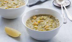 מחמם לבבות: איך להכין מרק אפונה יבשה | The Kitchen Coach Soup Recipes, Vegetarian Recipes, Recipies, Cooking Recipes, Healthy Recipes, Healthy Food, Food N, Vegan Food, Soul Food