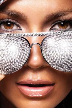 Jennifer Lopez has a sparkle in her eyes.