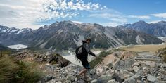 Hiking in New Zealand doesn't get better than the Kiwi Classic! See what makes this one of the most action packed NZ hiking tours! Mount Cook, Hiking Tours, Mount Rainier, Kiwi, New Zealand, Mountains, Classic, Travel, Derby