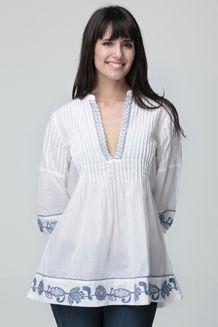 blusas bordadas - Buscar con Google