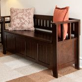 Found it at Wayfair - Acadian Entryway Bench in open living space to hold school stuff
