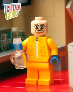 Breaking Bad Inspired LEGO Minifig