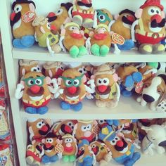¡Los quiero todoooooos! #mrpotato #toystory #juguetes #peluches #pelucheando