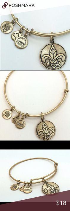 Alex and Ani Fleur De Lis EWB RG New with no tags!!                                                        Pictures by me!! Alex & Ani Jewelry Bracelets