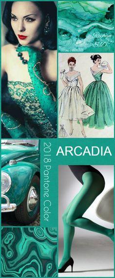 '' Arcadia- 2018 Pantone Color '' by Reyhan S.D
