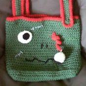 Zombie Bag Free Crochet Pattern