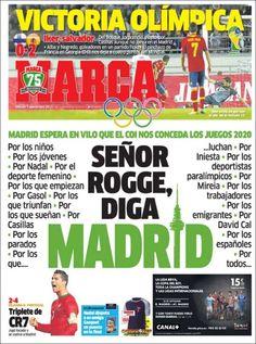Los Titulares y Portadas de Noticias Destacadas Españolas del 7 de Septiembre de 2013 del Diario Deportivo MARCA ¿Que le pareció esta Portada de este Diario Español?