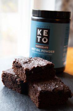 Fat Bomb Sea Salted Chocolate Brownies - WickedStuffed Keto Blog