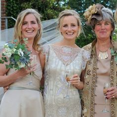 Hand-Gathered Bridesmaid Bouquet