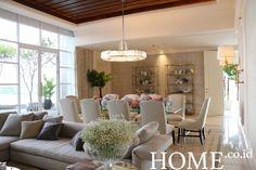 Menyinari Ruang ala Rika F Pasaribu Divider, Dining Room, Furniture, Home Decor, Interior Design, Dining Room Sets, Home Interior Design, Dining Rooms, Arredamento