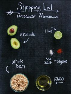 A healthy and delicious dip, avocado hummus is quick and easy to make.