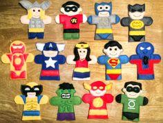 SUPER HERO FINGER PUPPET SET – OFNAH