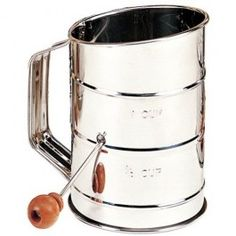 Child's Flour Sifter. One cup size. Perfect for little bakers to help in the kitchen!