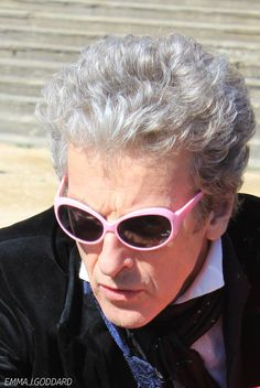 doctor what are those? these? these are my sonic sunglasses!